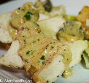 Boursin Mushroom Chicken Breasts Final