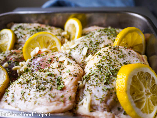 Garlicky Lemon Chicken