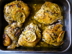 Garlicky Lemon Chicken Final