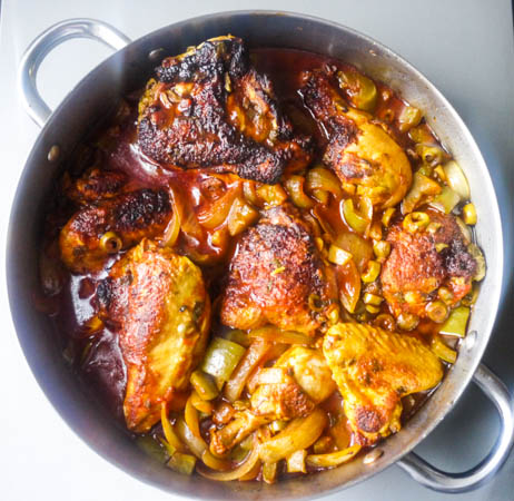 Latin Braised Chicken (Pollo Guisado)