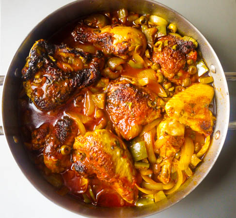 dominican stew chicken pollo guisado recipe dishmaps