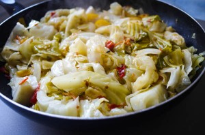 Sauteed Cabbage 6