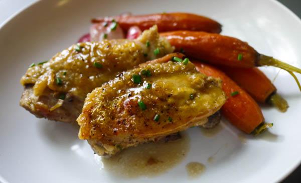 Chicken with Spring Veggies