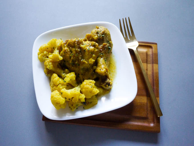Curry Cauliflower Chicken