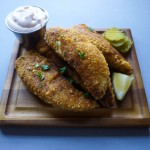 pickle-brined fried chicken tenders