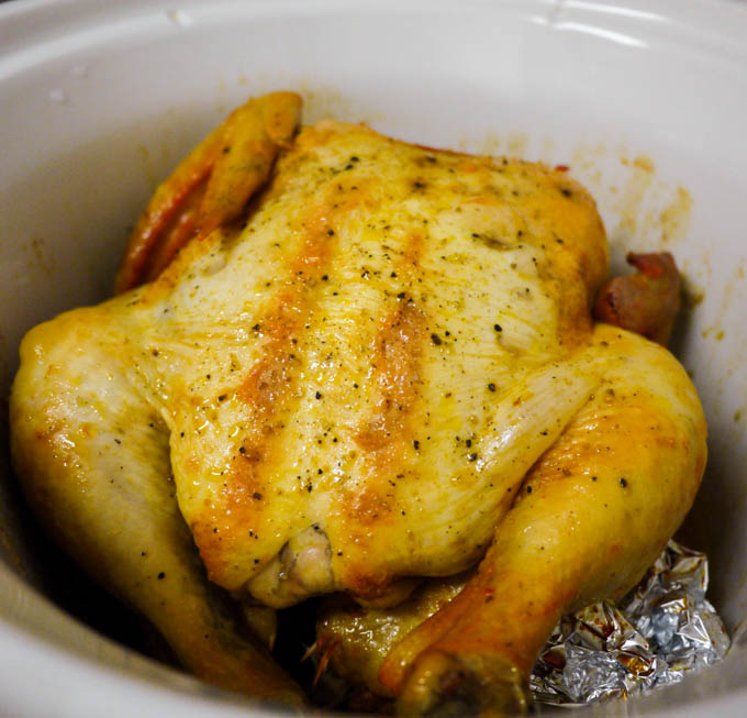 Perfect Crockpot Chicken