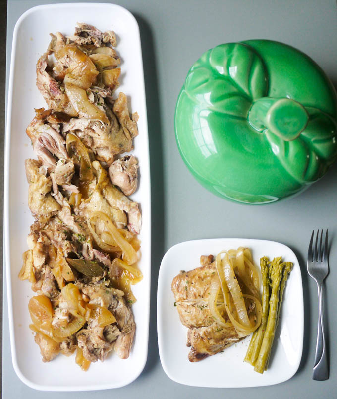 Slow Cooker Chicken Adobo - The Eat More Food Project