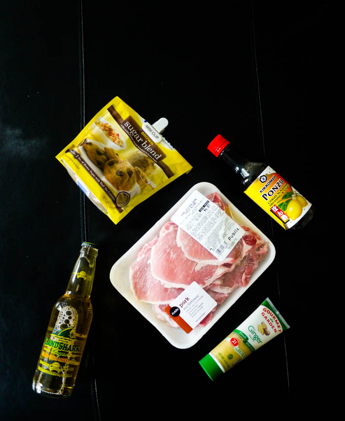 Summer Pork Chops