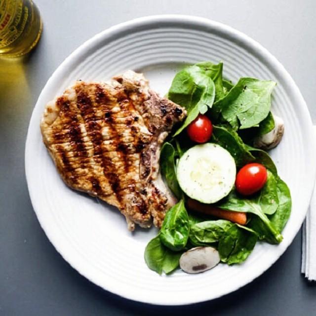Summer Pork Chops tbt healthy foodporn grillin yum instafood lowcarbhellip