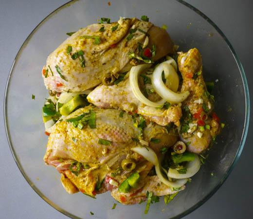 Latin Braised Chicken (Pollo Guisado)