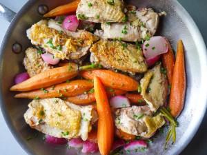 Chicken with Spring Veggies 11