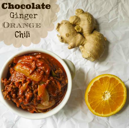 Chocolate Ginger Orange Chili