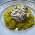 spaghetti squash with french onion sauce final top