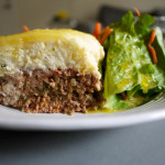 French Onion Meatloaf Pie