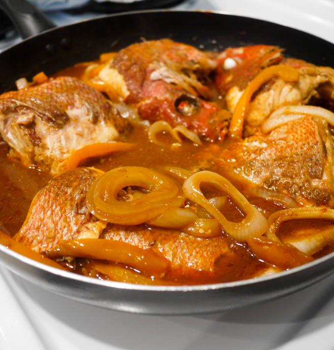 Jamaican Brown Stew Fish