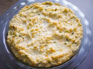 Loaded Mashed Cauliflower