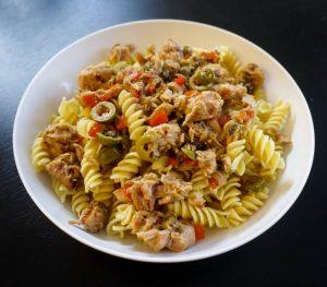 Olive and Tuna Rotini