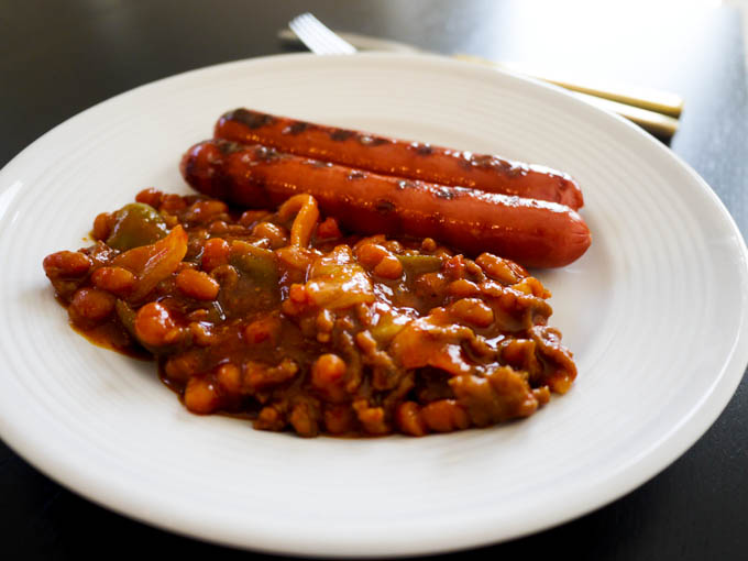 Meaty Baked Beans 5