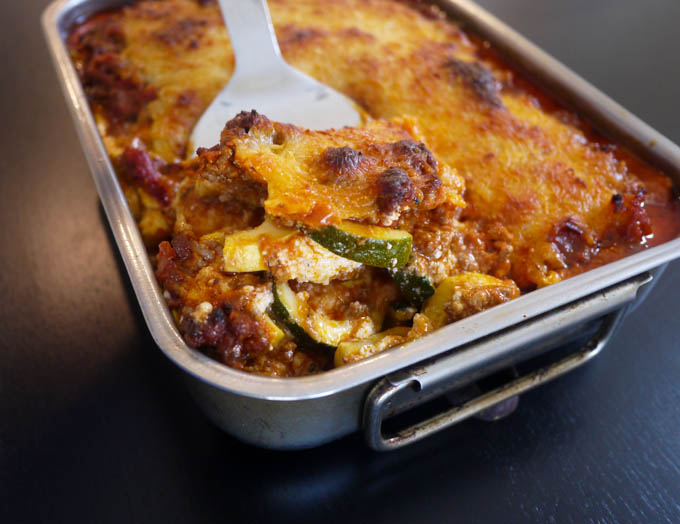yellow squash lasagna