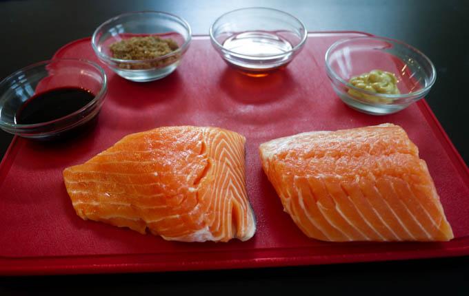 glazed salmon 1